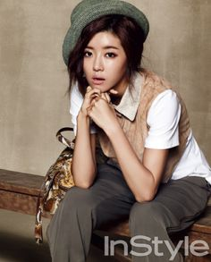 Park Han-byul // InStyle Korea // July 2012