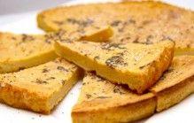 Farinata of kikkererwtenbrood
