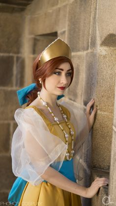 This 'Anastasia' Cosplay Comes Complete With A Castle
