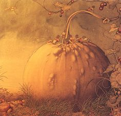 FAIRIES ON A GOURD BY ALAN BAKER