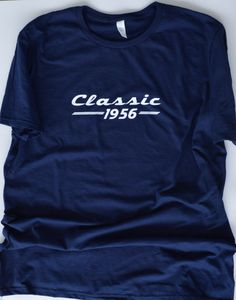 Classic 1956 T-Shirt. 60th Birthday Gift For Men. by LiveLoveTees