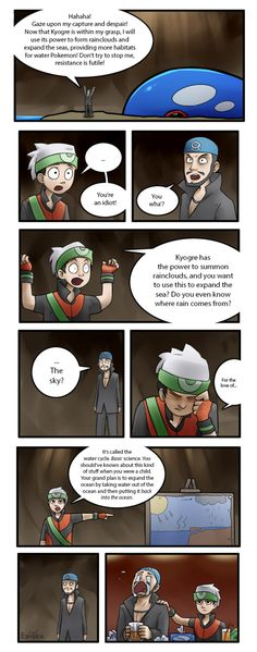 And this is why science is important... especially if you plan on taking over the world. #pokemon #ruby #sapphire