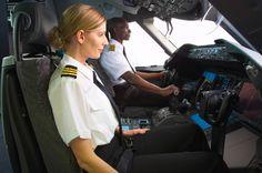 pilot girl taking flight Aviation Careers, Aviation Fuel, Aviation News, Low Cost Tickets, Buy Tickets, Airline Pilot, Airline Travel, Private Pilot, Private Jet