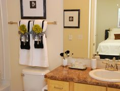Bathroom towel decorating ideas Inspired2Ttransform: Decorating ...