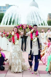 Monona Terrace Nuptials Perfectly Combine Two Cultures Bride Wisconsin Wedding Classic Ceremony