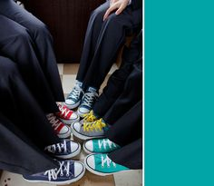 Page Boy Converse When I Get Married, I Got Married, Bridesmaid Duties, Bridesmaids, Boys Converse, Boys Suits, Page Boy, Our Wedding Day, Here Comes The Bride