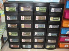 good idea for storing math games