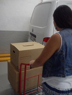 Elementos para transportar tus cosas dentro del centro con comodidad