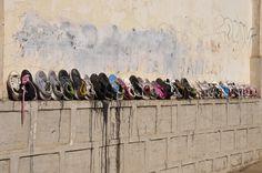 Hochland Fianarantsoa Schuh-Auswahl