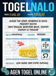 Angka Kode 6D Togel Wap Online TogelNalo Makassar 29 April 2017