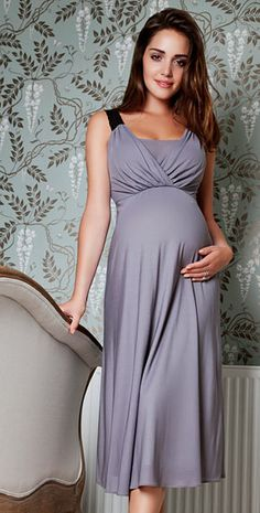 Luella Maternity Night Gown by Tiffany Rose
