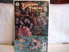 This listing is for 3 Comics Complete run -Superman/Tarzan: Sons of the Jungle #1-3 M/NM