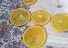 Апельсиновые чипсы