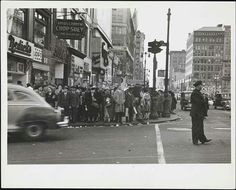 East 14th St ca. 1940 Photo by Arnold Eagle