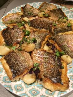 Pan Seared Caribbean Red Snapper with Sea Salt & Spanish Olive Oil  #crushediceevents