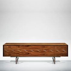 LINLEY | Bespoke design & furniture | Helix Sideboard Rosewood | Luxury Gifts & Homeware, Furniture, Interior Design, Bespoke