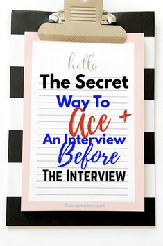 The Secret Way to ACE An Interview Before It Starts - |How to interview well|Interview someone|How to interview|How to dress for a job interview|Interview someone|My job interview|Do well in an interview|ace the interview|Interview Tips|Dress for an interview|Interview outfit|Outfit professional|Pass an interview|Prepare for a job interview|Interviewing help|Interviewing tips|Get a job|Find a career|Motivation|Change your life|Make more money|Do good on a job interview|Professional