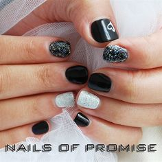 Shellac On Short Nails by nailsofpromise -