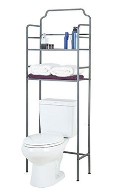 Make use of every inch of space in your bathroom and keep it as organized as possible with this square tube design space saver from Tidy Living. Attractive and functional, this space saver features metal tubing that is designed in a shape that is made to fit over and around your toilet. Tall... more details available at https://furniture.bestselleroutlets.com/bathroom-furniture/over-the-toilet-storage/product-review-for-tidy-living-over-the-toilet-space-saver/