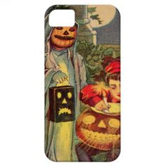 Getting Ready For Halloween iPhone 5 Covers