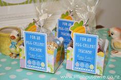 Little Housewife: Egg-Cellent Teacher Easter Gifts