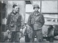 10 WWII Heroes: Richard Winters 8/10 - Le Chaim (on the right)