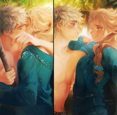 This really reminded me of an awesome fan-fiction of Jelsa on wattpad. Its called 'beware his frozen heart' by Raysay616 if you wanna check it out; its probably one of the best fan fictions I've read
