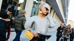 The Best Street Style Beauty From Phil Oh's Milan Fashion Week Fall 2017 Snaps http://cstu.io/6ee072