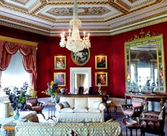 Pride and prejudice locations, Netherfield drawing room.