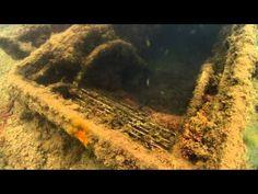 Underwater View of the USS Arizona
