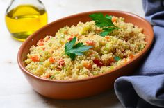 35 Delicious Recipes That Don't Require an Oven Couscous Salat, Recipe Today, Other Recipes, Clean Eating Recipes, Paleo Diet, Fried Rice, Love Food, Risotto, Food And Drink