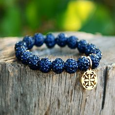 Emerson Navy (with Gold) – Rustic Cuff - $22 I have this one with Silver!