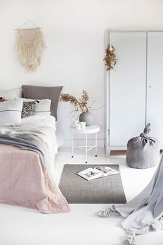 pinned by barefootstyling.com scandinavian interior inspiration | bedroom styling