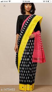 8ca8813cc3be5 Cotton sarees  Charvi Ethnic Cotton Mulmul Women s Sarees Vol 3 Designer Silk  Sarees