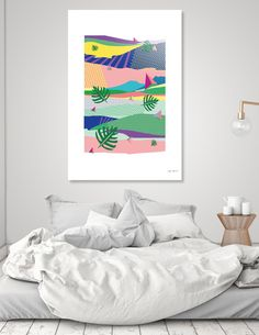 Discover «colors of nature», Exclusive Edition Aluminum Print by Yahya Rifandaru - From $75 - Curioos