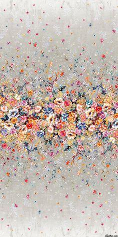 Digital Floral Garland