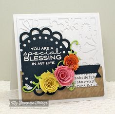 You Are a Special Blessing To Me - SSSC