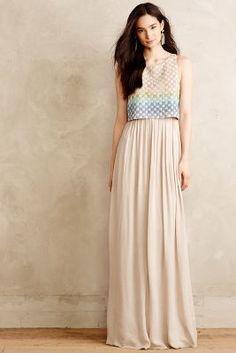 Mara Hoffman Spring Basket Maxi Dress #anthrofave