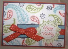 Spiced paisley birthday by Saffivort on Splitcoast. Cute and pretty easy looking!