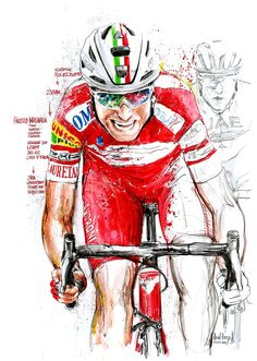 Cycling Art, Road Cycling, Bicycle Painting, Spin, Pilot, Shirt Designs, Racing, Wallpaper, Sports