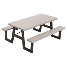 Lifetime 32 5 Quot Kids Folding Picnic Table Almond Sam S