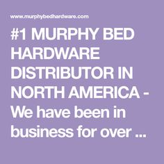 Murphy Bed Hardware Distributor in North America Murphy Bed Desk, Murphy Bed Plans, Do It Yourself Projects, Diy Projects To Try, Murphy Bed Hardware, Home Building Tips, Mattress Frame, Modern Murphy Beds, Bed Wall