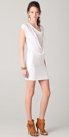 Lanston    Draped Dress  Style #:LANST40068