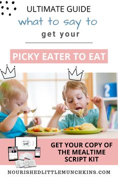 Avoid the mealtime meltdown with your picky eater by using these scripts for common mealtime scenarios.  If your child has trouble coming to the table, you're chasing them around with a spoon, is crying when they are asked to take a bite, throws food on the floor, barely eater a few bites before being full, or is starting to even refuse to eat old favourites, you'll have a framework to address these common mealtime scenarios with understanding and compassions and without using icky methods. Holistic Wellness, Health And Wellness, Natural Parenting, Say What, Health Articles, Picky Eaters, Talking To You, Early Childhood, Parenting Hacks