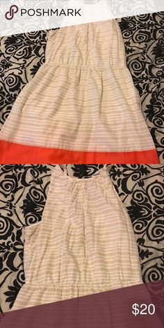 Spring Dress Easter Ready? Stripe Color block halter dress Old Navy Dresses Midi