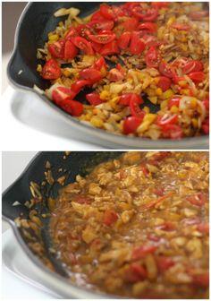 making tikka masala