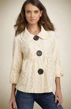 Kensie Lace Jacket? This is cute!