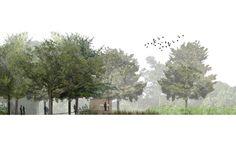 Spackman Mossop and Michaels – Couturie Forest Strategic Plan, 2008 - Architektur Landscape Architecture Section, Architecture Background, Architecture Collage, Architecture Graphics, Landscape Plans, Concept Architecture, Architecture Drawings, Architecture Details, Landscape Design