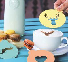 Regalos - Plantillas formas café leche