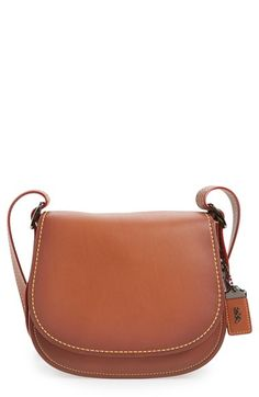 COACH 1941 '23' Leather Saddle Bag available at #Nordstrom